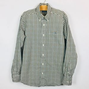 820d155c020 Hippie Fish Shirts - Fish Hippie Tailored Fit Green Gingham Button Down